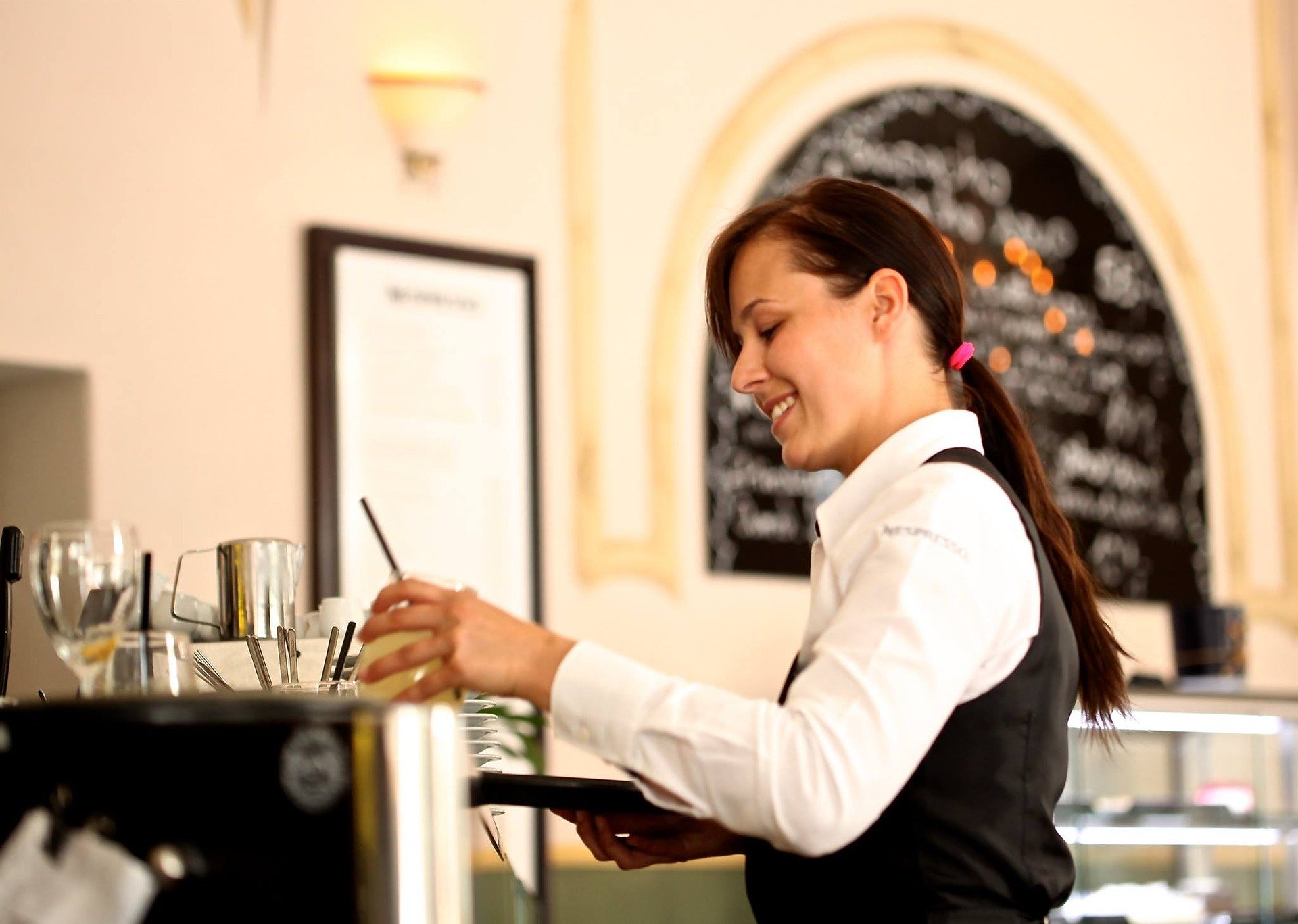 Take Her Job for a Day: Server's Life.