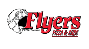 Flyers Pizza logo